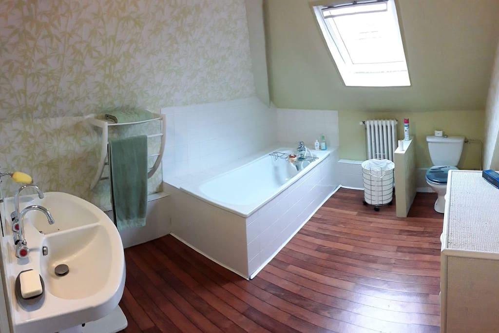 Salle de bain, chambre 1 et 2