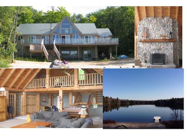 Luxury Muskoka Retreat - MacTier - Huis