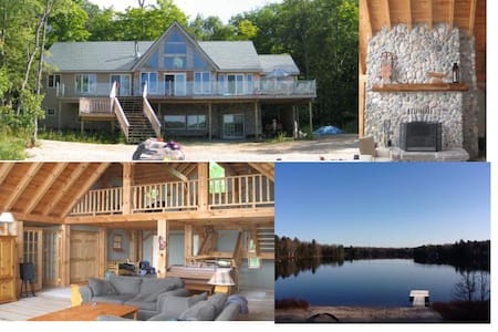 Luxury Muskoka Retreat - MacTier - Rumah