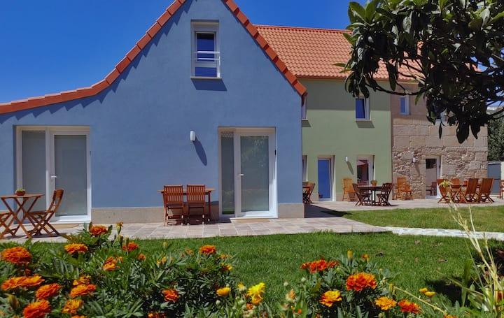 Apartamento con jardín próximo al mar