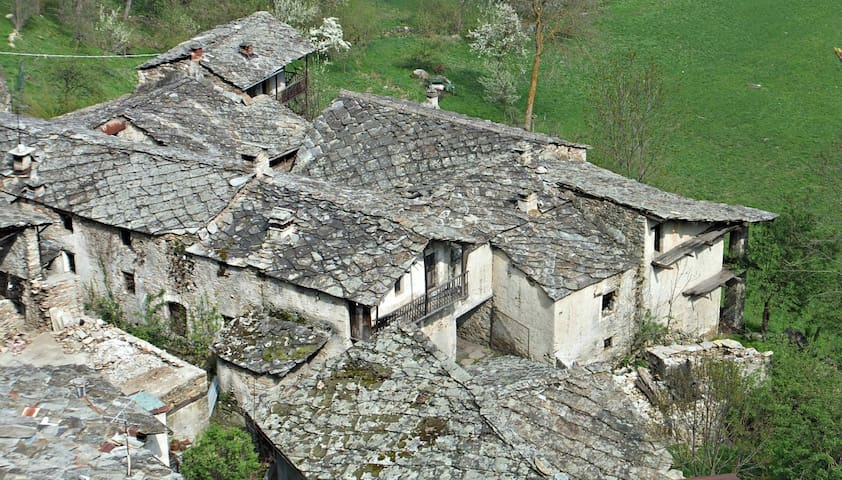Visit a Medieval working Borgata in Piedmont