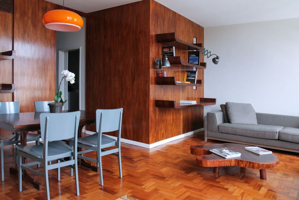 Living room + dining table