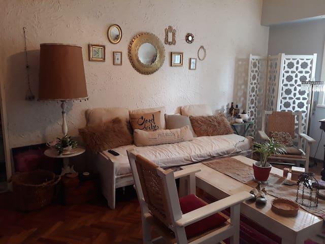 Apartamento de estilo vintage en Martínez
