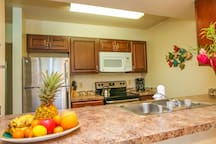Ample counter space to cook your favorite meals