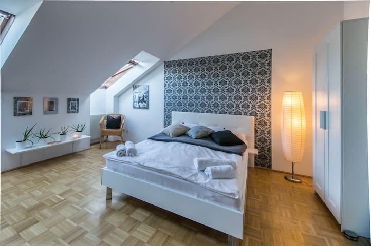 Cozy, bright well connected studio apartment - Wien - Wohnung