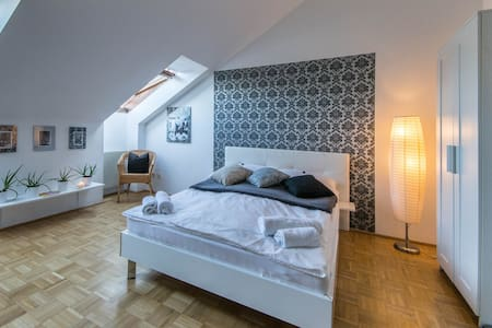 Cozy, bright well connected studio apartment - Vienna - Lejlighed