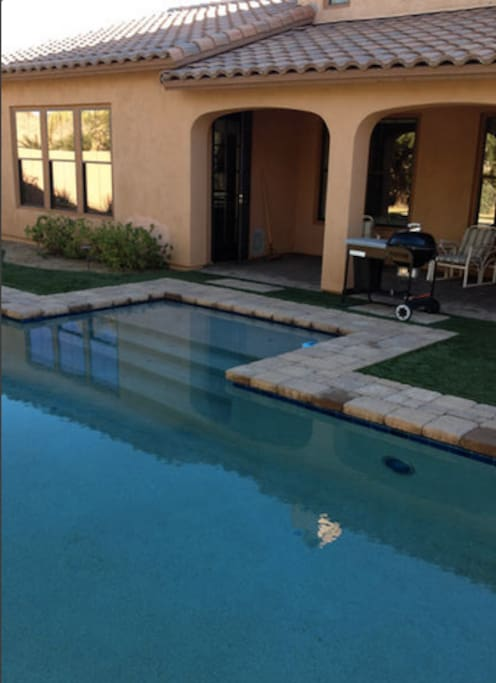Heated pool available upon request