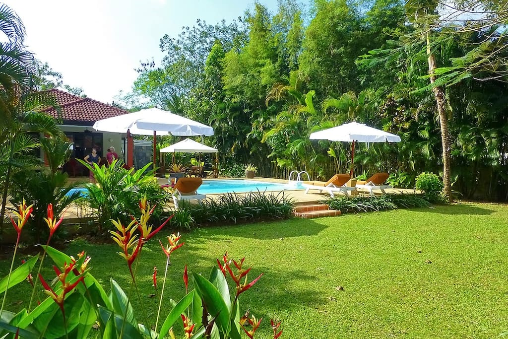 Baan Lompai Villa is set in a lush walled 1/2 acre tropical garden.