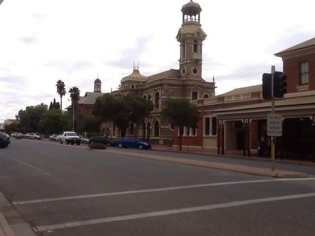 Enjoy the Silver City's heritage buildings.
