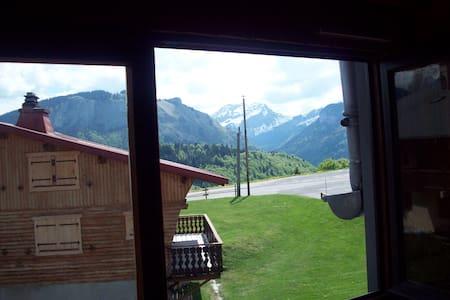 Beau studio situé au coeur des Alpes - Bellevaux