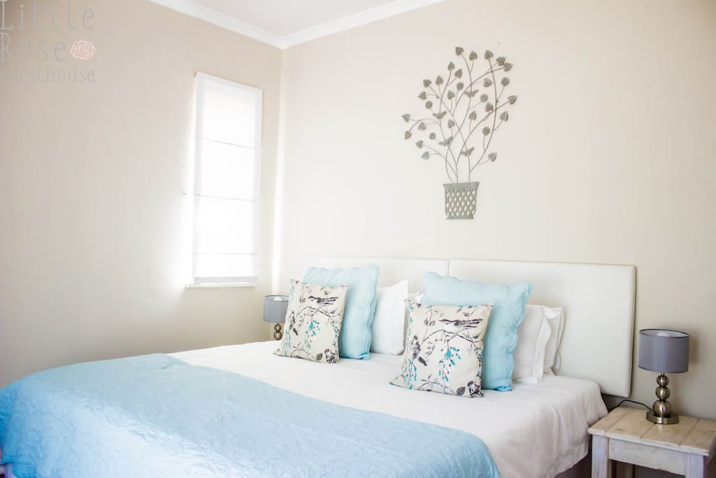 Twin beds/king bed