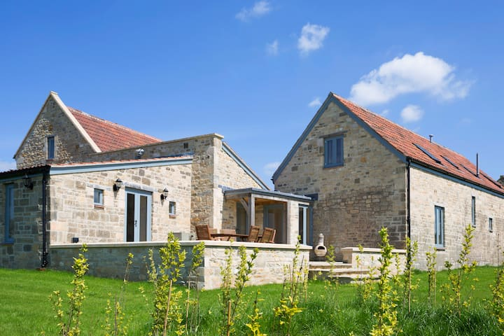 Stunning Somerset barn conversion with great views
