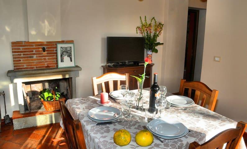 Apartment Arancio in cottage. - Pescia - Wohnung