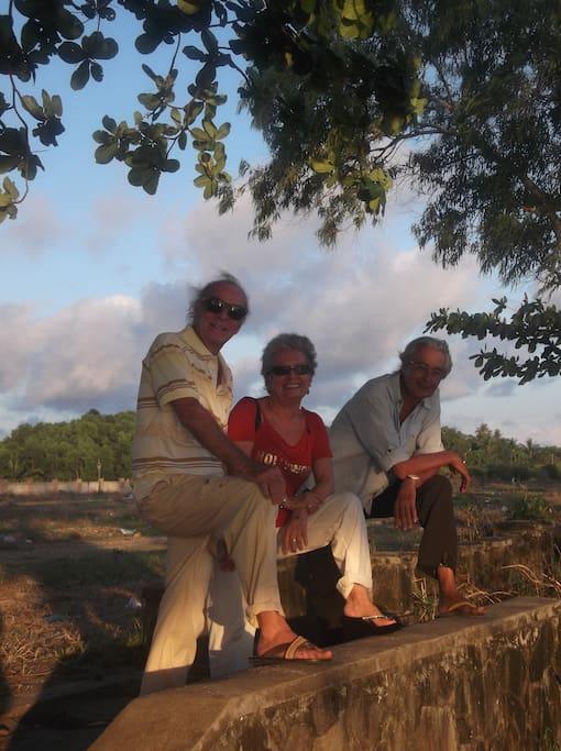 Giampaolo, Silvana e Renato, gli altri gestori