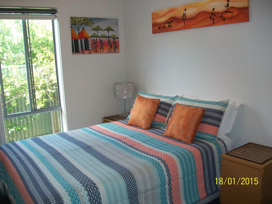 This listing: Bedroom with Queen sized bed
