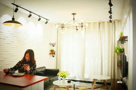 泰山脚下清新脱俗的北欧舒适小屋,让你找到回家的惊喜 - Taian Shi - Haus