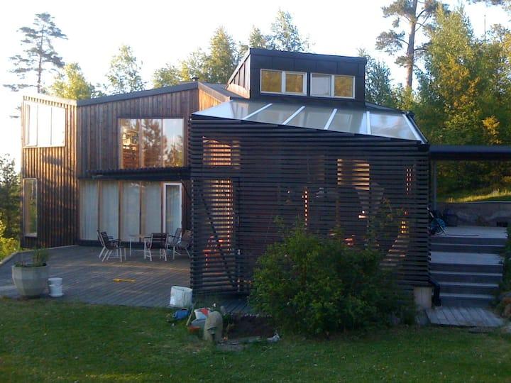 Modern Stockholm Archipelago house