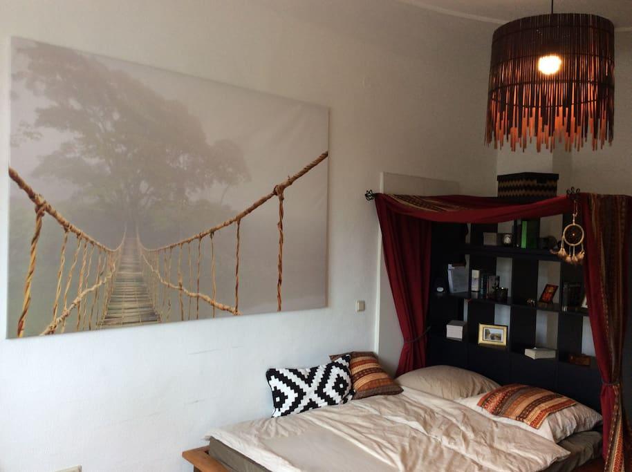 liebevoll eingerichtetes 12m wg zimmer appartamenti in affitto a mannheim baden w rttemberg. Black Bedroom Furniture Sets. Home Design Ideas