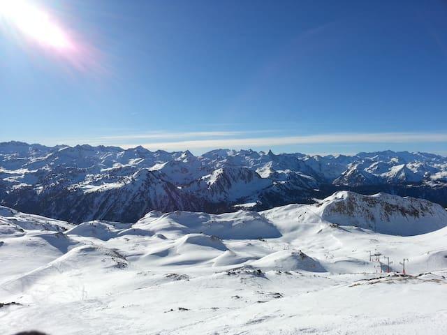 Esterri d'Àneu relax natura y esquí - Esterri d'Àneu - Daire
