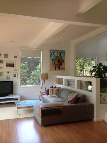 Comfortable, open plan lounge room