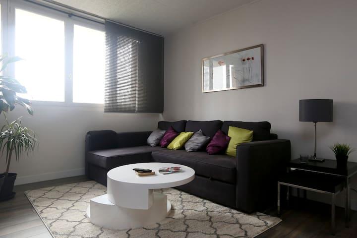 Joli 3 pièces - à 10min de Paris - Épinay-sur-Seine - Apartment