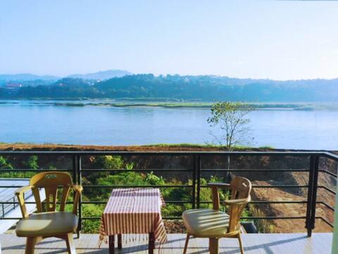 chiang khong zielona rzeka