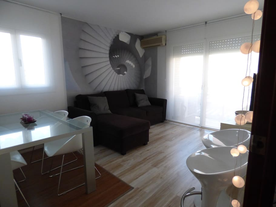piso de dise o en playa barcelona apartamentos en