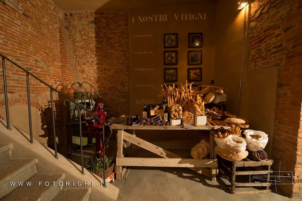 Dianella wine resort chambres d 39 h tes louer vinci for Chambre wine