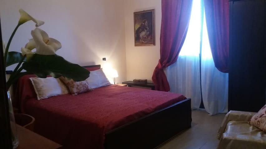 b e b il Belvedere stanza rossa vicino Taormina - Savoca - Bed & Breakfast