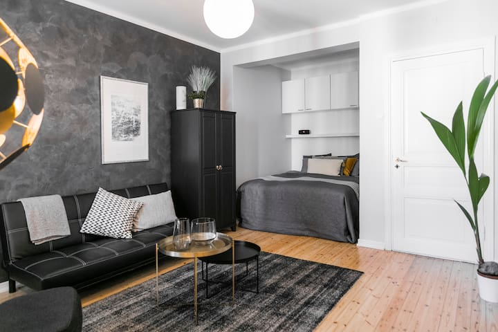 Modern, large studio apartment in city centre