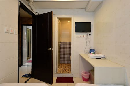 We have a newly renovated Squarefoot in MongKok - the heart of HK. (only 3 mins walk to MTR D2 Exit) We offers convenient, comfortable room rental, is the best choice for tourists&business