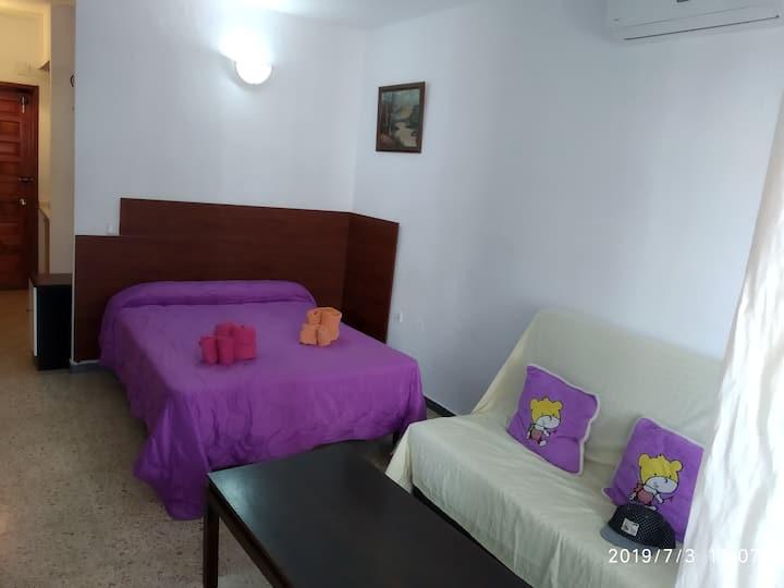 vacaciones en Torremolinos en apto para 2 personas