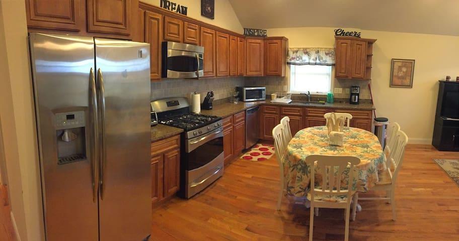 Kitchen Panoramic View