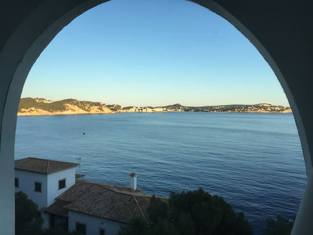 Charming Apartment with fantastic sea view - Cala Fornells - Leilighet
