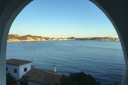 Charming Apartment with fantastic sea view - Cala Fornells