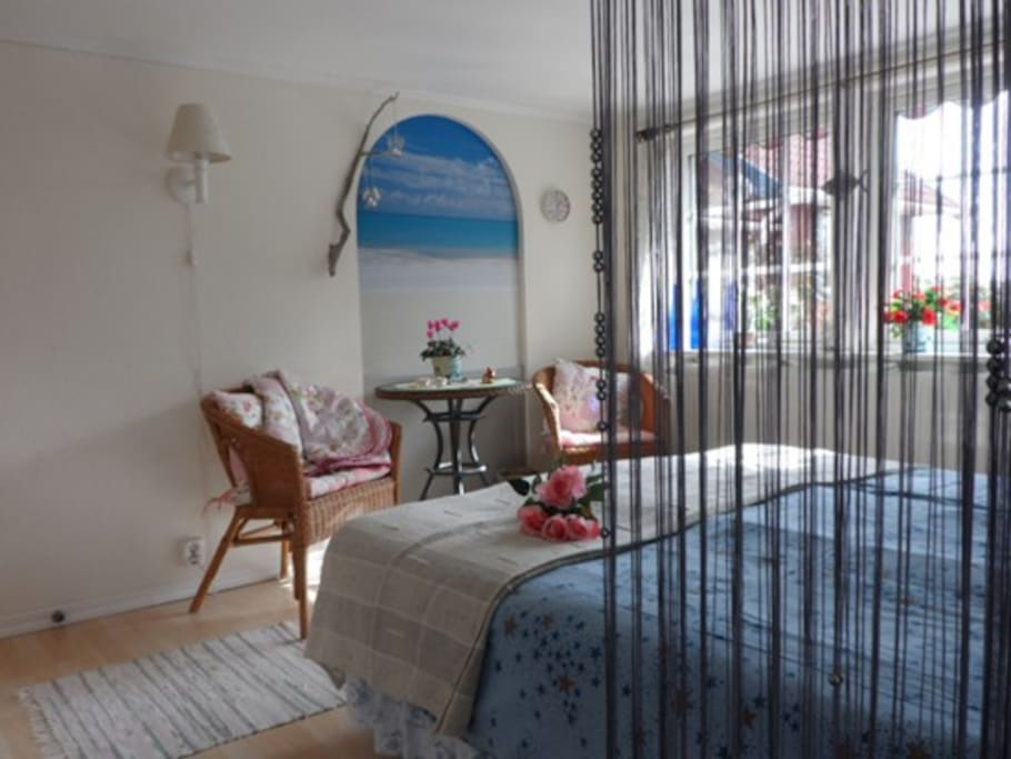 Guestroom with a Sea view