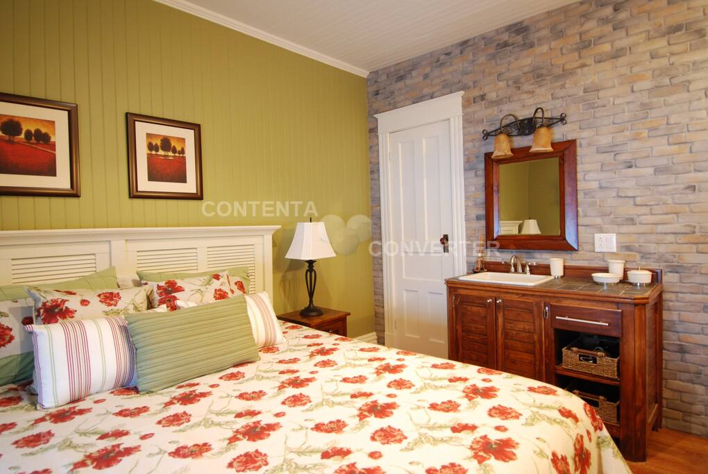 La coquelicot une chambre color e bed breakfast in affitto a matane qu bec canada - Chambre coloree ...