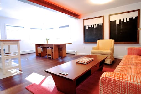 Designer flat, amazing setting. - Rosendale - Rumah