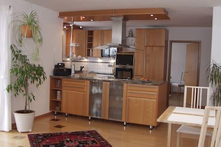 Komfortable Wohnung Voralpenland - Lejlighed