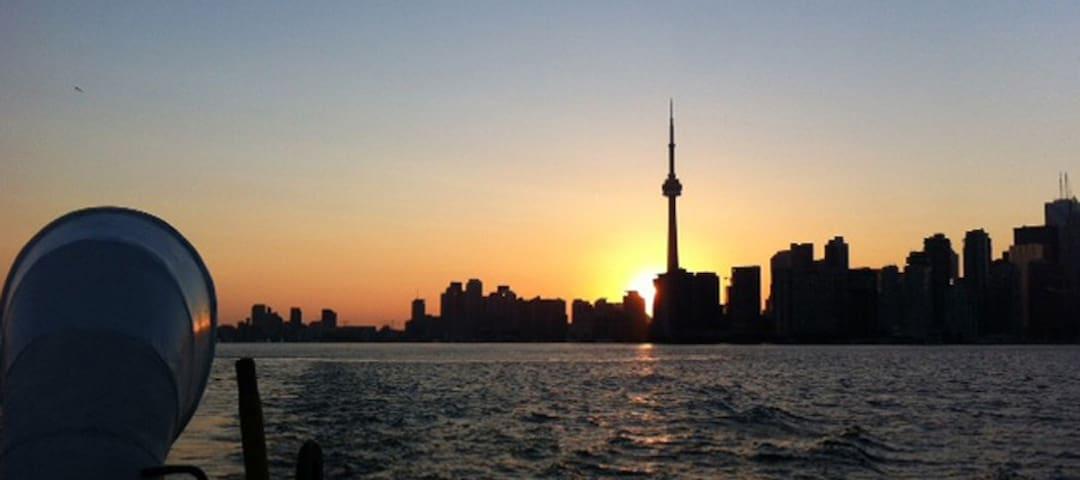 Toronto Island Paradise Pad - Toronto - Chatka