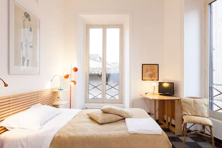 Single room in the center of Rome - Rome - Inap sarapan
