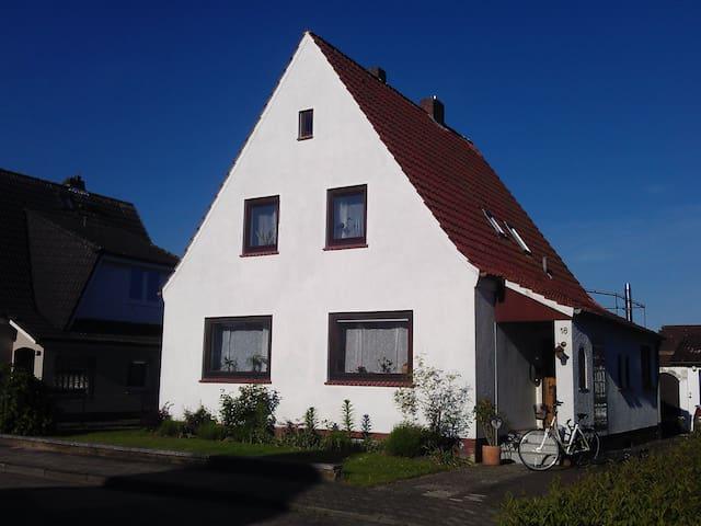 Die grüne Diele, Ferienwohnung - Bremervörde - Wohnung