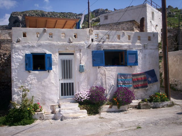Traditional Greek Village House