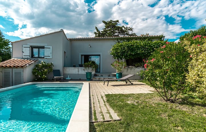 La Verdière -  Contemporary house with garden and private pool