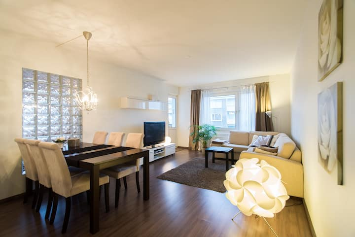 Modern, spacious 84m2 apartment, Turku