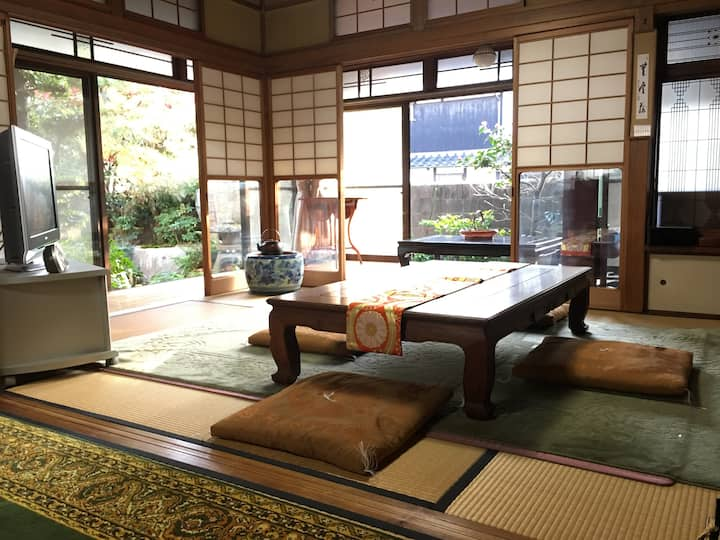 Perfect Lodging for groups with Japanese garden