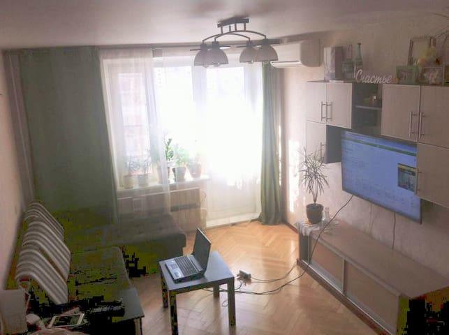 Двухкомнатная квартира, м.Царицыно
