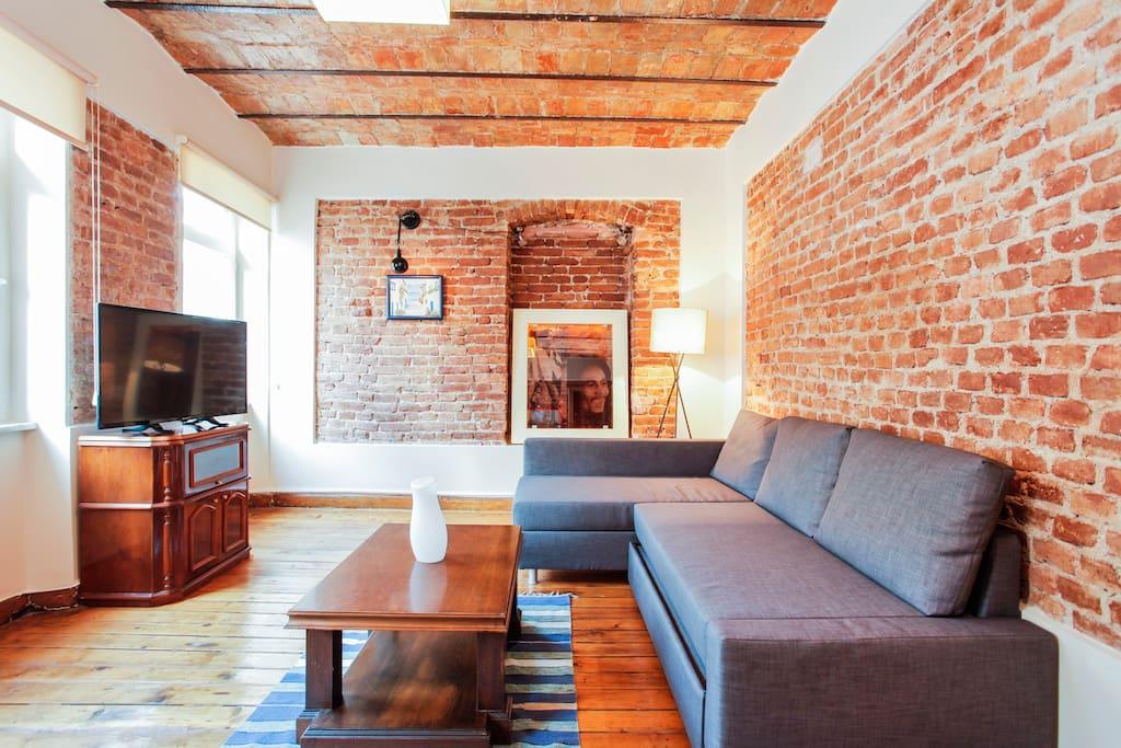 Galata historical greek appartment appartamenti in - Il divano di istanbul ...