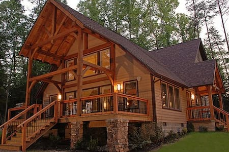 Vandalia -Luxury cabin on the rim of Gauley Canyon