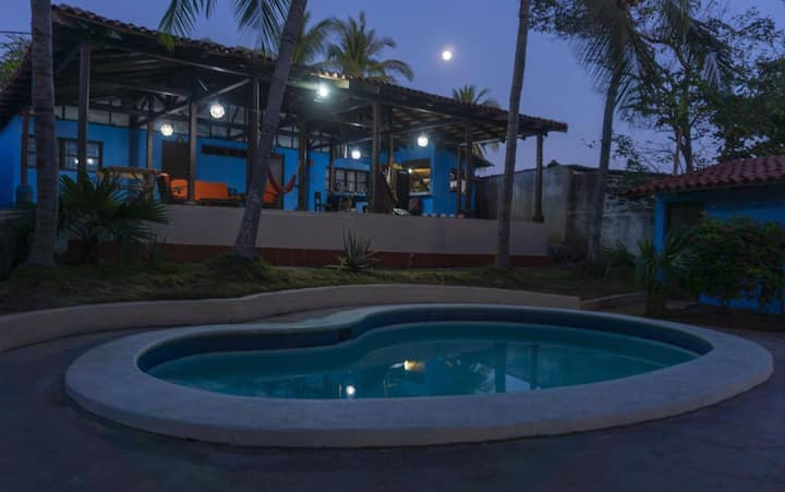 Casa Garrobo, relaxing beach resort